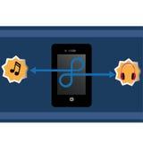 Cellphone royalty-vrije illustratie