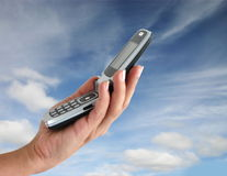 Cellphone Royalty-vrije Stock Foto's