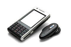 Cellphone with Bluetooth Royalty Free Stock Image