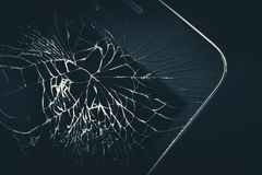 Cellphone Broken Display Royalty Free Stock Photo