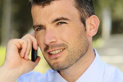 Cellphone business Royalty Free Stock Photography