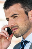 Cellphone business Royalty Free Stock Photos