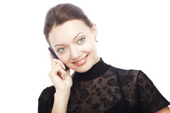 Cellphone call Stock Photography