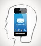 Cellphone - communication concept Stock Photos
