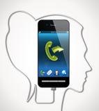 Cellphone - communication concept Stock Photo