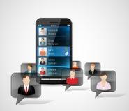 Cellphone communications 3 Stock Photo