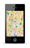Cellphone gps Royalty Free Stock Images