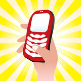 Cellphone Icon Stock Photo
