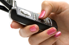 Free Cellphone In Hand Royalty Free Stock Image - 3789746