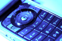 Cellphone Keypad 2. Cellphone Keypad With Color and Blur Effect Stock Photos