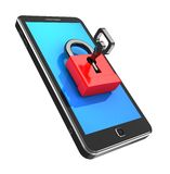 Cellphone locked Royalty Free Stock Image