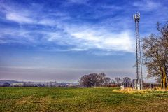 Cellphone mast Stock Images