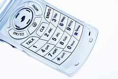 Cellphone number pad Stock Photography