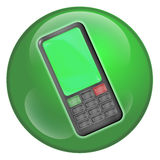 Cellphone Orb Royalty Free Stock Images