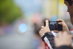 Cellphone pics Royalty-vrije Stock Foto