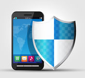 Cellphone security, safety 2 Royalty Free Stock Image