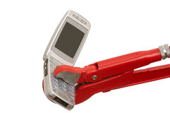 Cellphone service Royalty Free Stock Image