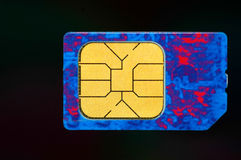 Cellphone Sim Card Royalty Free Stock Photos