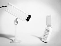 Cellphone Surveillance Royalty Free Stock Photos