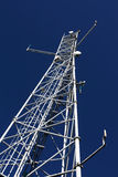 Cellphone tower. Photo of a cellular  network tower Stock Photos