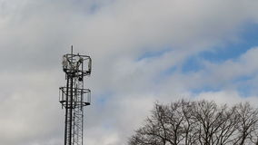 Cellphone tower stock video footage