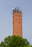 Cellphone tower Wayne Pennsylvania Royalty Free Stock Photo