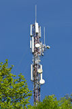 Cellphone Transmitter Tower Royalty Free Stock Photography