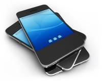 Cellphones Royalty Free Stock Photo