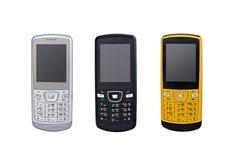 Cellphones royalty-vrije stock afbeeldingen