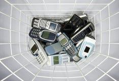 Cellphones royalty-vrije stock afbeelding