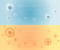 Cells banner Stock Photo