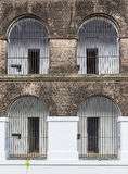 Cells of Cellular jail Royalty Free Stock Image