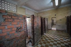 Tuol Sleng Genocide Museum Royalty Free Stock Photo