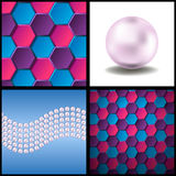 Cells and pearls Royalty Free Stock Photography