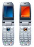 celltelefoner Arkivfoton