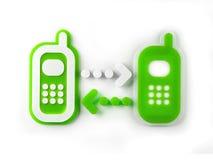 celltelefoner Royaltyfri Illustrationer