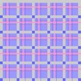 Cellula scozzese, senza cuciture, modello di vettore Fotografia Stock Libera da Diritti