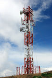 Cellulaire antenne Stock Afbeeldingen
