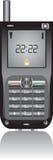 Cellulaire geïsoleerde telefoon Royalty-vrije Stock Foto