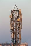 Cellulaire telefoontoren Stock Foto's