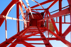 Cellulaire toren Royalty-vrije Stock Afbeelding