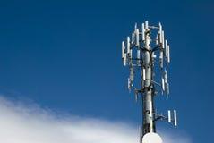 Cellulaire toren Royalty-vrije Stock Foto's
