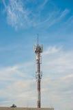 Cellulaire toren stock afbeelding