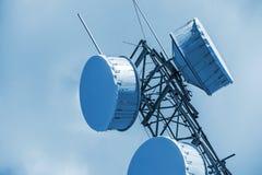 Cellular Antenna Closeup Royalty Free Stock Images