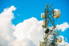Cellular Antenna Tower Royalty Free Stock Photos