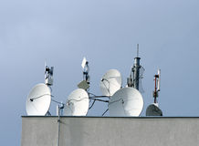 Cellular antennas Stock Photo