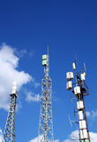 Cellular antennas Royalty Free Stock Image