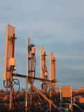 Cellular antennas Royalty Free Stock Photos