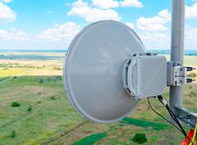 Cellular antennas Stock Photography