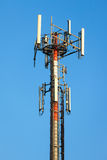 Cellular communication tower Stock Image